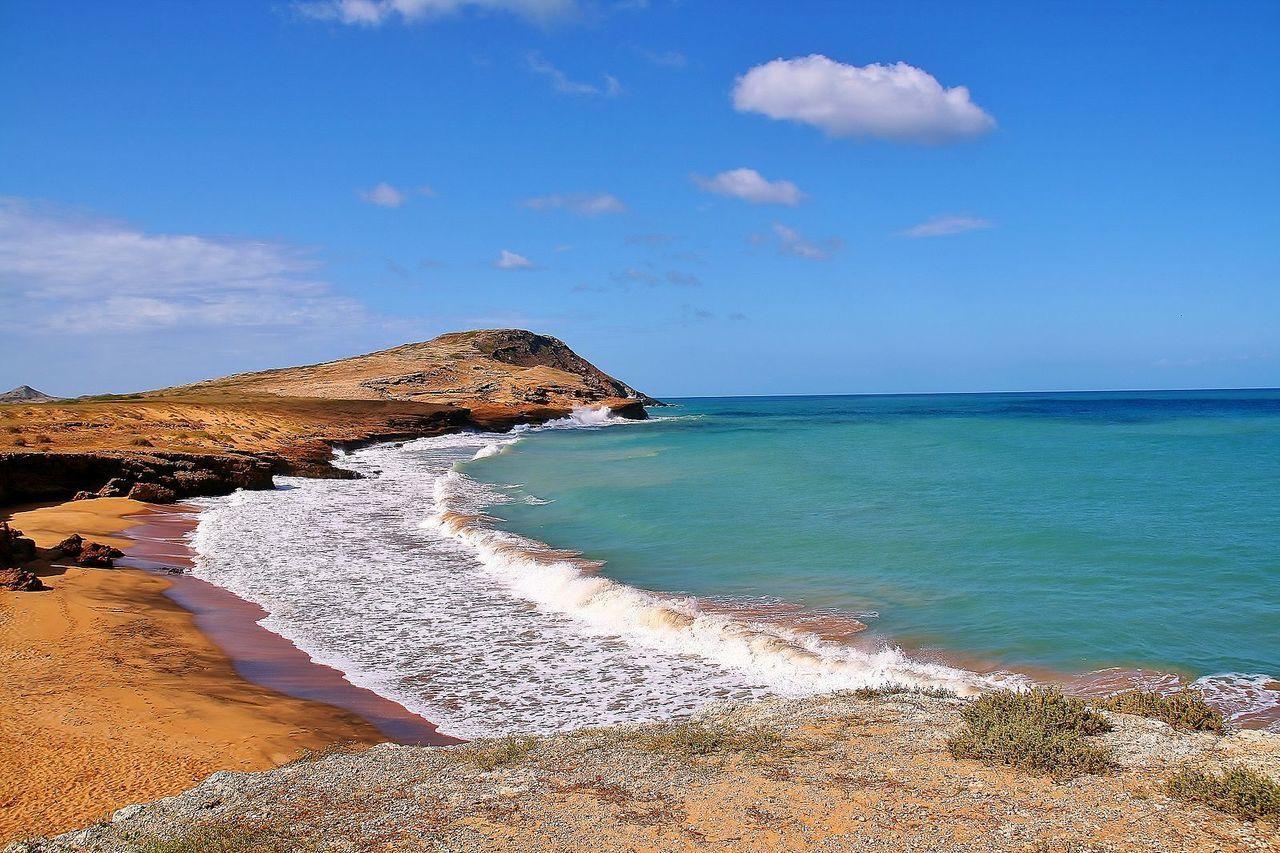 Cabo de la Vela, désert de la Guajira